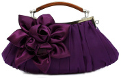 Thenice Women's Silk Flowers Wedding Evening Bags Clutch