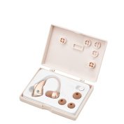 DTMcare High Quality Digital Hearing Amplifier - Affordable Hearing Enhancer with 4 Ear buds to fit everyone.