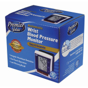 Premier Value Blood Pres Monitor Opp Wrist - 1ct