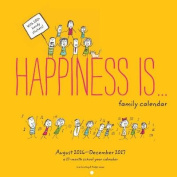 Happiness Is ... 2017/2018 Family Calendar