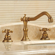 Furesnts Modern home kitchen and bathroom faucet Copper antique Contemporary Chrome Polished Bathroom Sink Basin Faucet Single Deck Mounted Mixer Waterfall Tap ,