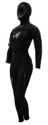 AquaLung SolAfx 8mm Women's Wetsuit, Black Discontinued