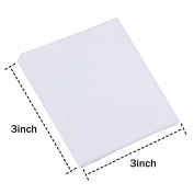 Outus 12 Pack Mini Canvas Panels for Painting Craft Drawing