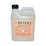 980ml Liquid Hand Soap Refill Pouch with Geranium