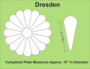 Paper Pieces Dresden Plate Paper Template Set for 30cm Block