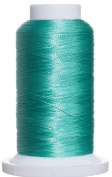 1M-3050 BFC Poly Machine Embroidery Thread, 40 Wt, 1000m, MD Aqua Green