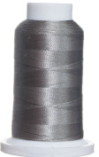 1M-3413 BFC Poly Machine Embroidery Thread, 40 Wt, 1000m, MD Grey