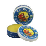 Badger Balm Aromatic Chest Rub - Eucalyptus & Mint - 60ml