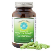 Pure Synergy Organic Matcha Ceremonial-Grade Japanese Green Tea 90 Vegetarian Capsules by The Synergy Company
