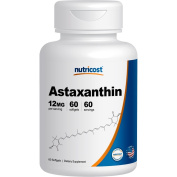 Nutricost Astaxanthin 12mg, 60 Softgel Capsules