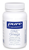 Pure Encapsulations - O.N.E.TM Omega - Fish Oil Capsules to Support Cardiovascular, Joint, Cognitive, and Skin Health* - 60 Softgel Capsules