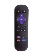 Gvirtue Replacement Lost Remote Control 1 Year Warranty Compatible with Roku Models Roku 1 (Lt, Hd); Roku 2 (Xd, Xs); Roku 3