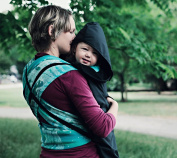 BundleBean babywearing:all-weather waterproof sling and carrier cover Plain Black