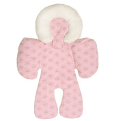 Baby Car Seat Pram Pushchair Stroller Safety Soft Cushion Pad Baby Protection - Pink