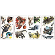 Joy Toy 65469 Jurassic World Wall 4 Sheets Decals Sticker in Blister Pack