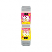 DGJ Organics Kids Top to Toe Shampoo & Body Wash Rhubarb & Custard 250ml