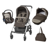 Bebe Confort Streety Next Pack Trio Earth Brown