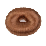 Fashion Bun Shapers Hair Doughnut Bun Ring Shaper Hair Donut Style Updo - Light Brown
