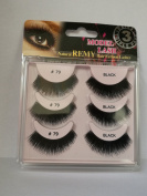 """Model Lash Natural Remy Contains 3 Pair Of 100% Human Hair Lashes """"Demi"""""""