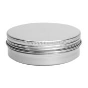 Cosmetics Container - TOOGOO(R)5 x Empty Cosmetics Pot Lip Balm Tin Jar Container screw 100ml