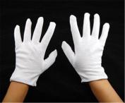 Ardisle White Dermatological Cotton Gloves For Eczema Dry Skin Dry Moisturising Cream
