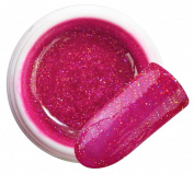 Orion Purple colour 047 GLITTER GEL Bsn Professional 5 ml