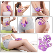 JJOnlineStore - 360 Degree Rotate Unisex Palm Shaped Balls Spheres Roller Handheld Glove Body Beauty Massager Amazing Stress Pain Relief Body Care Cellulite