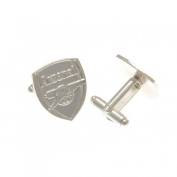 Official Arsenal FC Silver Plated Cufflinks