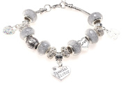 Special Sister 50th Birthday Charm Bracelet with Gift Box Women's Jewellery