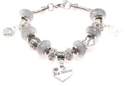Big Sister 50th Birthday Charm Bracelet with Gift Box Women's Jewellery