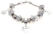 Goddaughter 40th Birthday Charm Bracelet with Gift Box Women's Jewellery