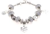 Special Niece 21st Birthday Charm Bracelet with Gift Box Women's Jewellery