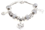 Special Daughter 30th Birthday Charm Bracelet with Gift Box Women's Jewellery