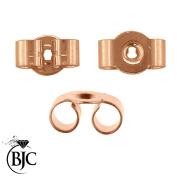 BJC® 9ct Rose Gold 5mm Medium weight Earring Backs / Scrolls / Butterfly Backs