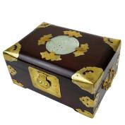 Large Jewellery Box jadéite