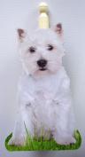 West Highland Terrier Kitchen Roll / Toilet Roll Holder - D7A