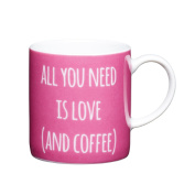 Kitchen Craft - Porcelain Espresso Mug - All You Need - 80ml