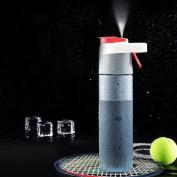 XIDUOBAO Spray Water Bottle Mist Cooling Outdoor Sports Drinking Bottles Portable BPA-Free Water Bottle Drinking Bottles, BPA FREE,(600ml
