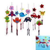LeeRose 1 Pcs DIY Wind Chime Kids Manual Arts and Crafts Toy