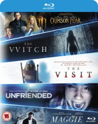 The Witch/Crimson Peak/Maggie/The Visit/Unfriended [Region B] [Blu-ray]