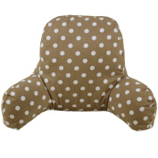 J & L Super Comfortable Chair Bed Support Cushion Bed Reading Pillow Back Rest Lumbar Cushion T-Shape Cotton Insert