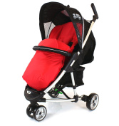 Deluxe Universal Footmuff to fit Britax B-Mobile - RED