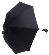 Baby Parasol Compatible with Hauck Stroller Buggy Pram Black