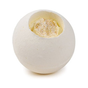 Gold Top Vanilla Milkshake Scented Whole Ball Bath Fizzer Bomb 180 grammes