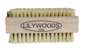 Extra Tough Wooden Nail Brush with Stiff Cactus Bristles