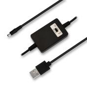 KUNCAN 5v To 9v or 12v Converter Adjustable Step Up Voltage Converter Dc To Dc Converter with Swift Switch Adapter