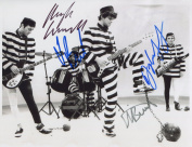 The Stranglers FULLY SIGNED Photo 1st Generation PRINT Ltd 150 + Certificate