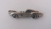 Ferrari GTO 250 on a Tie Clip (slide) made from Fine English Pewter