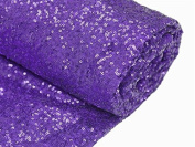 3.7m 4 Yards Royal Purple Sequin Fabric, By the Yard, Sequin Fabric, Tablecloth, Linen, Sequin Tablecloth, Table Runner