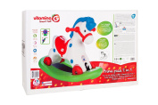 Globo Toys Globo - 5167 36.5 x 51 x 77 cm 2-in-1 Vitamina_G Rocking Horse and Ride on Toy